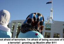 'i'm not afraid of terrorism. i'm afraid of being accused of being a terrorist': growing up muslim after 9/11
