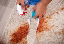 do-it-yourself carpet repair and carpet steam cleaning at home