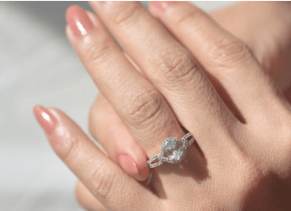 oval cut diamond engagement ring and their quality