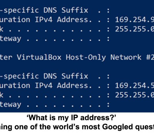 'what is my ip address?' explaining one of the world's most googled questions