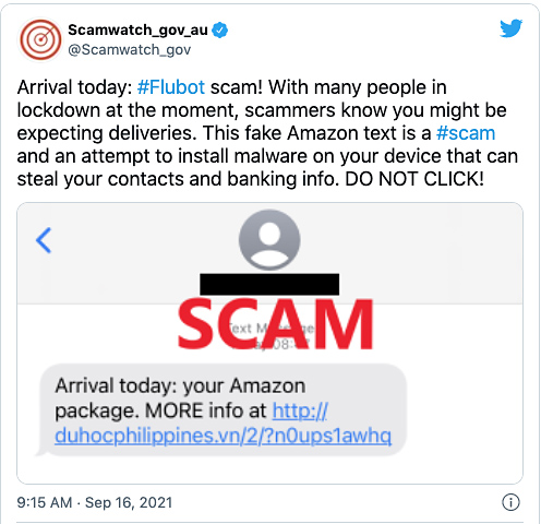 being bombarded with delivery and post office text scams? here's why — and what can be done