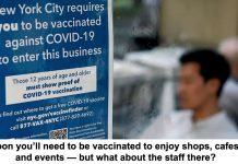 soon you'll need to be vaccinated to enjoy shops, cafes and events — but what about the staff there?