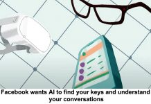 facebook wants ai to find your keys and understand your conversations