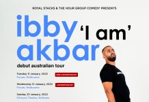 aussie comedian ibby tour date changes..