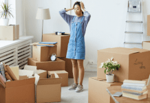 the 4 things to never, ever procrastinate when you move